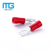 Günstige Preis Isolierte Doppel Spade Lug Terminals Connectors