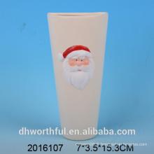 Humidificateur d'air en céramique décoration de Noël avec figurine santa