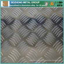 Plaque de Checkered en aluminium 2119 de vente chaude