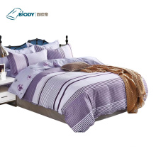 Modern 100% Polyester Print Luxury Home Bedding Set