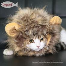 Lion Panda Mickey Kaninchen Katze Cosplay Mähne Perücke Haustier Katze Kostüm Zubehör