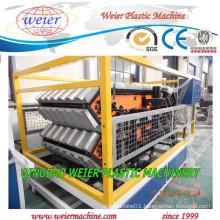 PVC ASA PMMA Plastic Glazed Roof Tile Making Machine