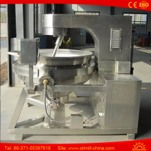 Automatic 70kg Output Popcorn Machine Gas Operated Football Popcorn Maker