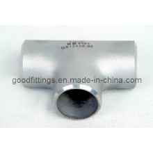 Edelstahl-Rohrverschraubungen, gleiches T-Stück PED 3.1