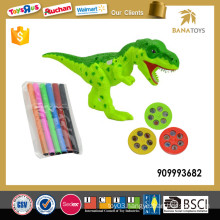 Kids dinosaur painting toy projector