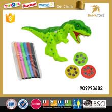 Kids dinossauro pintura brinquedo projetor