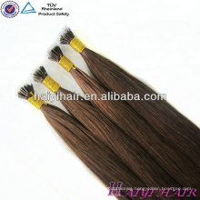 Qingdao Haiyi Hair Products Cuticle Aligned Russian Remy Hair Extension Nano Ring Extension.