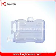1.5 galones rectángulo congelador jarra de agua de plástico BPA libre con Spigot (KL-8013)