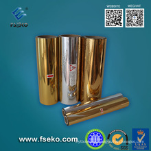 Pet Gold Metalized Roll Film for Hot Laminating