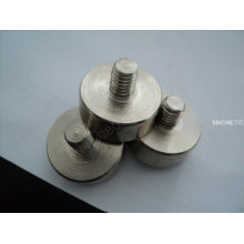 Permanente Keramiktopf Magnet