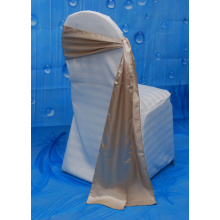 Champagne High Quality Cheap Wedding Glamour Satin Sash