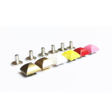 Pyramid Colorized De Moda Rivets Metal Studs