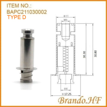 24V RO Purifier, Tabung Solenoid Valve Plunger Air