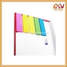 Hot venda de notas adesivas com baixo preço e alta qualidade para atacado
