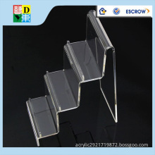 High quality tiered acrylic display