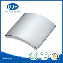 Sintered Arc Shaped Magnetic Material NdFeB Magnet for Automobile