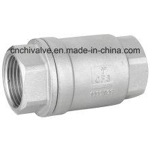 Válvula de retención de muelle de elevación de acero inoxidable