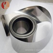 Astm B551 Pure Zirconium R60702 Pure Pure Pure Strip / foil Precio por Kg