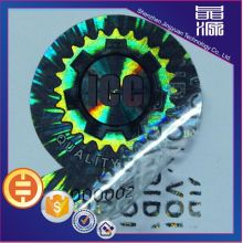 Label Sticker Hologram Laser VOID 3D