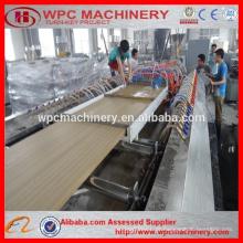 WPC Türpaneel Extrusion Linie / 600-900mm Holz Kunststoff wpc Tür Maschine / PVC Tür Tür