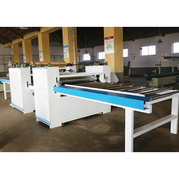 Woodworking Plywood Panel Double Side PVC Lamination Machine