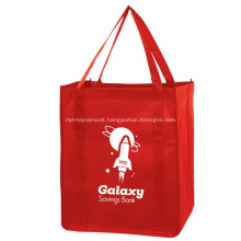 Branded Non Woven Grocery Bag With long handles