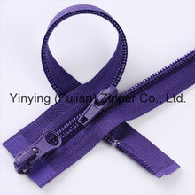 Two Sides Open Nylon Zipper Cheap Price