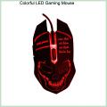 10% Rabatt Cool Design Bunte 6D LED verdrahtete optische Gaming Maus (M-65)