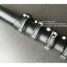 Made in China High stiffness carbon fibre telescopic pole for window cleaning waterfed pole