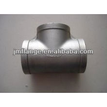 carbon steel Pipe Fitting Tee Equal zinc cool -dip