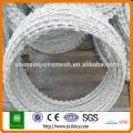200g/m2 High Hot Dipped Galvanized Concertina Razor Barb Wire Manufacturer
