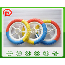 """12"""" ЕАВ твердые пены колесо , пластиковый обод ,детская колеса автомобиля .Детские коляски колеса ,детские колеса детского велосипеда"""