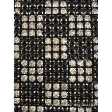 24row 5yards Diamante Plastic Rhinestone Mesh Trimming