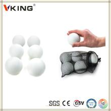 Корона Спортивные товары Регулировка белого размера Лакросс Мячи