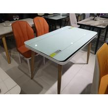 European Design stainless steel legs Dining Table