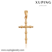 31021 Religion series gold Jesus cross gold designs pendant jewelry for women