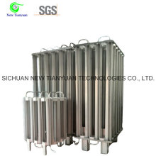 10m3 Capacidad 250lh Bomba de líquido Vaporizador de temperatura del aire