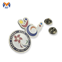 Promotional custom making metal arm badge online