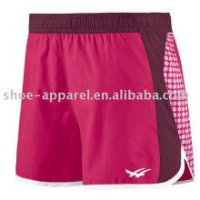 Pantalones cortos de entrenamiento de mujeres pantalones cortos de punto pantalones cortos de deportes