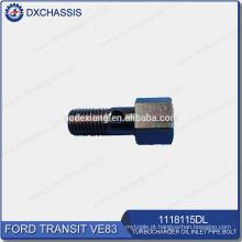Parafuso de tubulação de entrada de óleo de turbocompressor de trânsito genuíno VE83 1118115DL