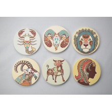 Souvenir Ceramic Coaster, Promotional Gifts Coaster