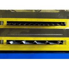 Doppelschicht-Dachformwalzenformmaschine