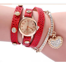 Yxl-399 Drop Shipping Vintage Reloj De Pulsera Montres Femmes Bracelet En Cuir Vente Chaude Bracelet Montre-Bracelet Dames Quartz Bracelet Montre