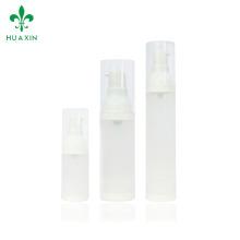 15 ml 30 ml botella de pulverizador de cabeza de la bomba sin aire de plástico de gama alta