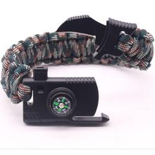 Big Discount for Camping Compass Paracord Survival Bracelet Kit supply to Yemen Suppliers