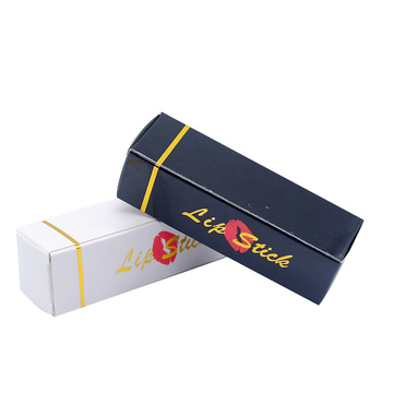 Custom Printed Embossed läppstift Packaging Paper Box