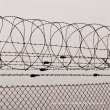 50мм * 50мм гальванизированный забор звена цепи с покрытием из ПВХ