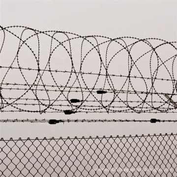 50mm*50mm Galvanized PVC coated Chain Link Fence
