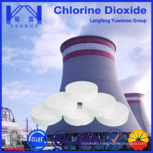 Chlorine Dioxide Tablet for Recycled Water Purification for Boiler