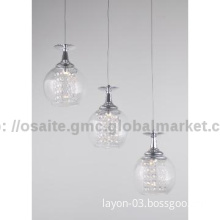2014 modern glass hanging light